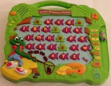 Leap's Phonics Pond Educational Alphabet game from Leap frog