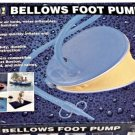 Bellows Foot Air Pump For Water sports, Camping, Home Use.