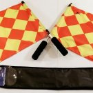 Two Soccer Flags for Referees Excellent Condition