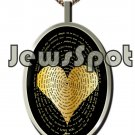 "SS PENDANT NANNO 24 KT GOLD IMPRINT- ""I LOVE YOU"" IN 120 LANGUAGES + CHAIN, BOX, MAGNIFYING GLASS"