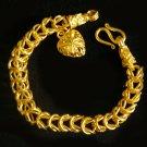 """7"""" very nice bangle 24K gold filled bracelet 59"""