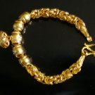 "8.3""lovely & nice 24K gold filled bracelet bangle 30"