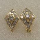 attrative cz 24K gold filled earrings 22