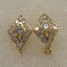 attrative cz 24K gold filled earrings 22