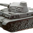 Axis & Allies Contested Skies Elite Panzer IV Ausf. D #28/45