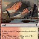 Foil Khans of Tarkir Wind-Scarred Crag