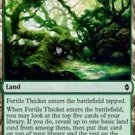 Foil Battle for Zendikar Fertile Thicket