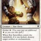 4x Zendikar Kor Sanctifiers (playset)