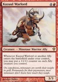 Zendikar Kazuul Warlord