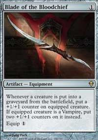 Zendikar Blade of the Bloodchief