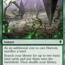 4x Zendikar Harrow (playset)