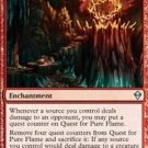 4x Zendikar Quest for Pure Flame (playset)