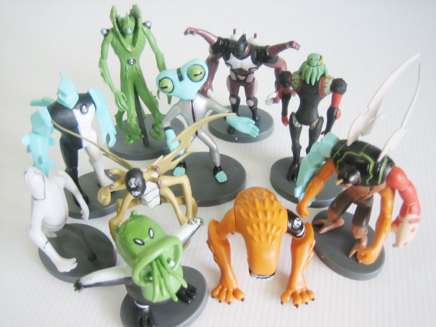 10pcs Ben 10 Small Figurines Cake Topper Collection Set 2