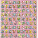 10 Big sheets Letter Alphabet Buy 2 lots Bonus 1 lot  #TM0020