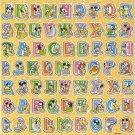 10 Big sheets Letter Alphabet Buy 2 lots Bonus 1 lot  #TM0097