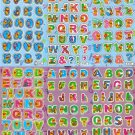 10 Big sheets Letter Alphabet Winnie Pooh Buy 2 lots Bonus 1 lot #B090
