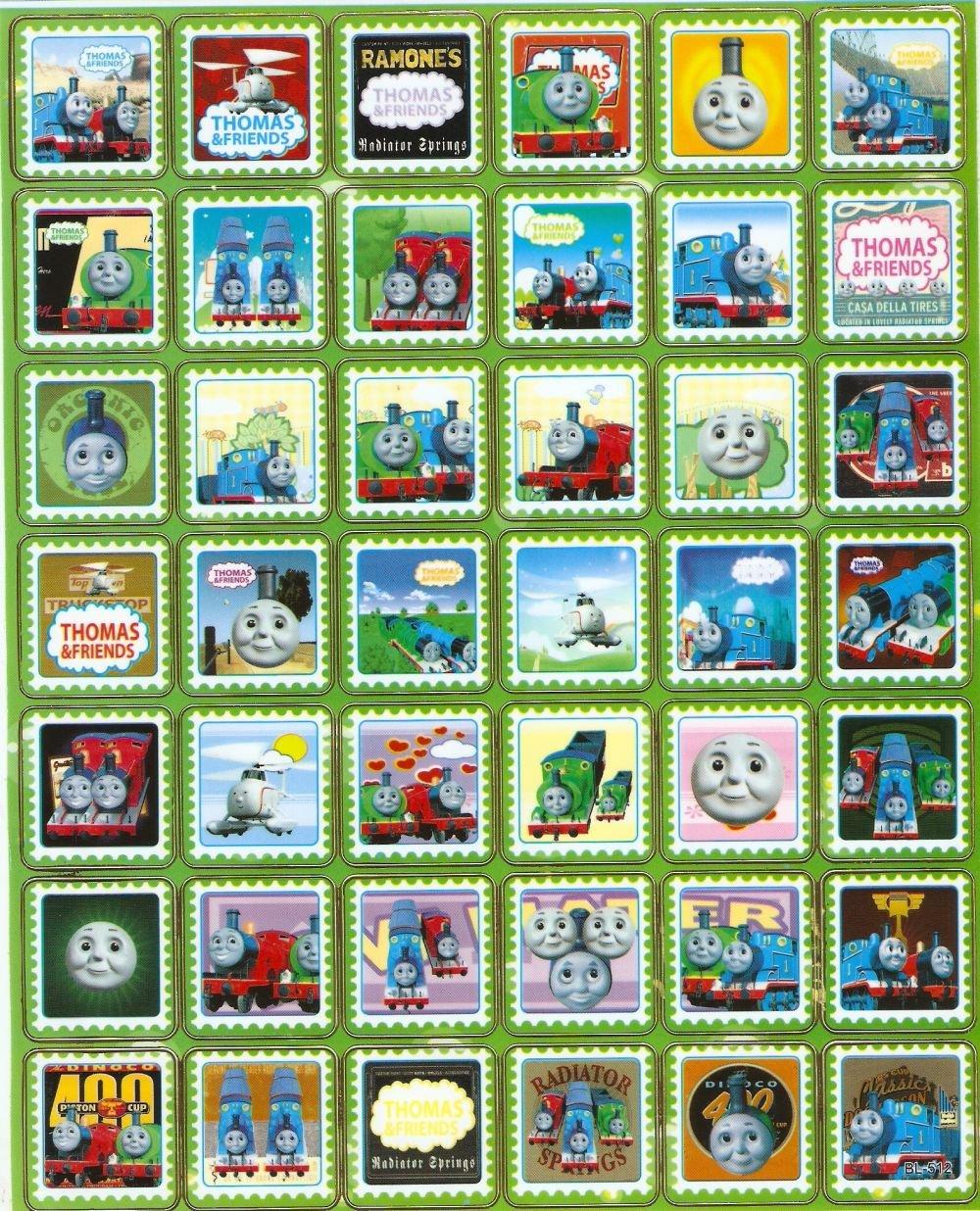 10 Big sheets Thomas Train Sticker Buy 2 lots Bonus 1 #BL512