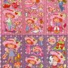 10 Big sheets Strawberry Shortcake Sticker Buy 2 lots Bonus 1#b184