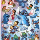 10 Big sheets Stitch Sticker Buy 2 lots Bonus 1 #E222