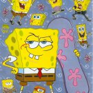 10 Big sheets Sponge Bob Sticker Buy 2 lots Bonus 1 #F047