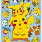 10 Big sheets Pokemon Pikachu Sticker Buy 5 Bonus 1 #F046