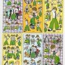 10 Big sheets Ben Sticker Buy 2 lots Bonus 1 #BEN B272