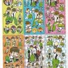 10 Big sheets Ben Sticker Buy 2 lots Bonus 1 #BEN B271