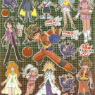 10 Big sheets Bakugan Sticker Buy 2 lots Bonus 1 #BK PM369
