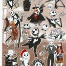 10 Big sheets Nightmare Before Christmas Sticker Buy 2 lots Bonus 1 #NBC PM00354