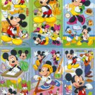 10 Big sheets Mickey Sticker Buy 2 lots Bonus 1 #MKY B183