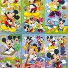 10 Big sheets Mickey Sticker Buy 2 lots Bonus 1 #MKY B183