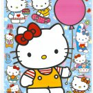 10 Big sheets Hello Kitty Sticker Buy 2 lots Bonus 1 #HK F021