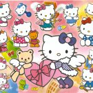10 Big sheets Hello Kitty Sticker Buy 2 lots Bonus 1  #BL127