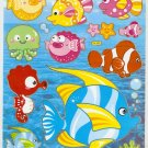 10 Big sheets Fish Sticker Buy 2 lots Bonus 1 #FSH DL003