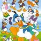 10 Big sheets Donald Sticker Buy 2 lots Bonus 1#MKY BL039