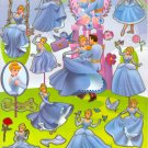 10 Big sheets Princess Sticker Buy 2 lots Bonus 1 #DP E003
