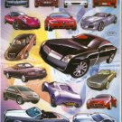 10 Big sheets Car Model Sticker Buy 2 lots Bonus 1 #CAR D150