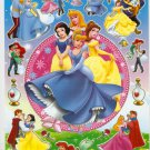 10 Big sheets Princess Sticker Buy 2 lots Bonus 1 #BL002
