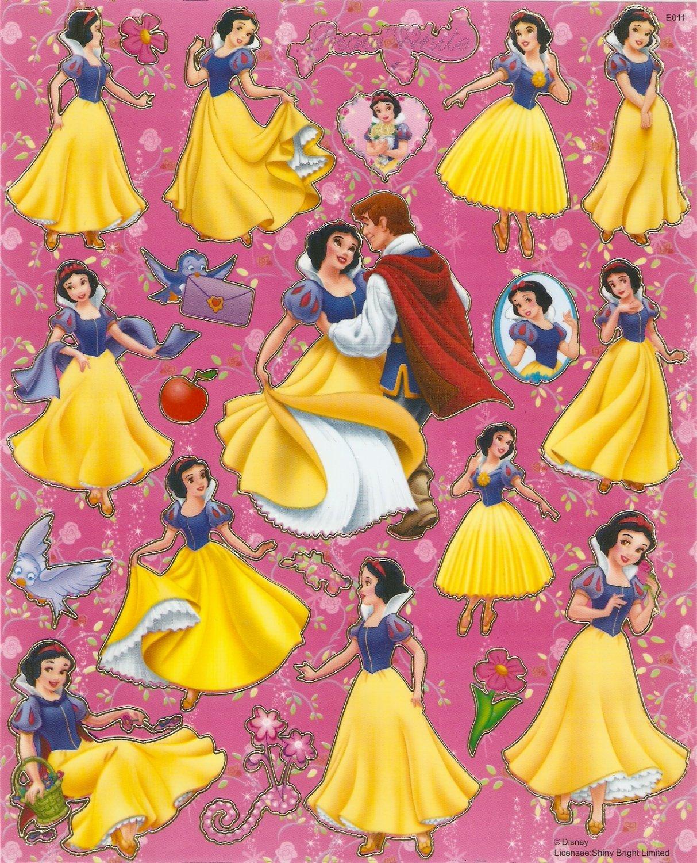 10 Big sheets Princess Sticker Buy 2 lots Bonus 1 #DP E011
