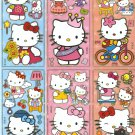 10 Big sheets Hello Kitty Sticker Buy 2 lots Bonus 1  #HK B180
