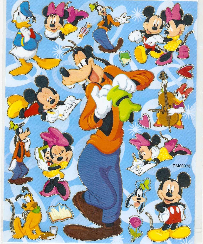10 Big sheets Goofy Sticker Buy 2 lots Bonus 1 #PM0076