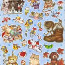 #TM326 ANIMAL PVC Removable Sticker