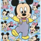 #PM00002 BABY MICKEY PVC Removable Sticker