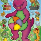 #BL123 - PM00290 BARNEY PVC Removable Sticker