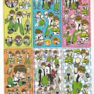 #B271 BEN 10 PVC Removable Sticker