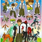 #BL183 BEN 10 PVC Removable Sticker