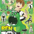 #BL565 BEN 10 PVC Removable Sticker