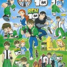 #BL568 BEN 10 PVC Removable Sticker