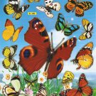 #BL309A BUTTERFLY PVC Removable Sticker