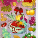 #TM0301 FRUIT & VEGETABLE PVC Removable Sticker